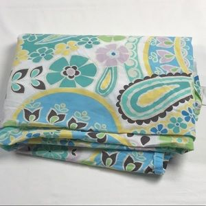 Pottery Barn Teen Twin flat boho design sheet